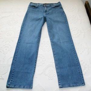 NYDJ  Lift Tuck Blue Jeans Size 12